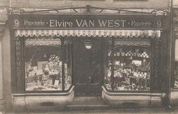 21) SINT-TRUIDEN - Papeterie ELVIRE VAN WEST - 1911 - Zeer Uitzonderlijke Kaart! - Sint-Truiden