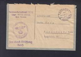 Dt. Reich Brief RAD Lager 15/102 Asbach Neuwied 1942 - Brieven En Documenten