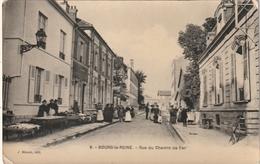 92 Bourg La Reine. Rue Du Chemin De Fer - Bourg La Reine