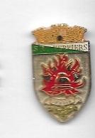 Pin' S  SUISSE, Ville, Pompiers, S R I  POMPIERS  à  VERVIERS - Pompiers