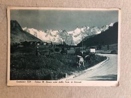 CORMAIORE CATENA M. BIANCO VISTA DALLA FRAZ. VERRAUD  1941 - Altre Città