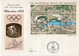 Germany SS On FDC - Summer 1972: Munich