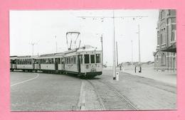 Foto  Nieuwpoort Strand =  TRAM - Reproductions