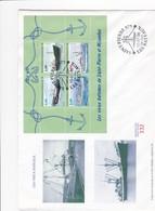 FDC PREMIER JOUR  Saint-Pierre Et Miquelon 1996 Feuillet 5 Bateaux - FDC