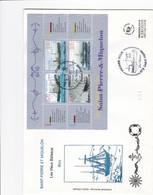 FDC PREMIER JOUR  Saint-Pierre Et Miquelon 1999 Feuillet 7 Bateaux - FDC