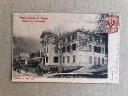 VALLE D'AOSTA ( S. VINCENT ) STABILIMENTO IDROTERAPICO   1903 - Altre Città