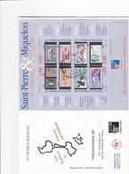 FDC PREMIER JOUR  Saint-Pierre Et Miquelon 1999 Feuillet 6 Philexfrance - FDC