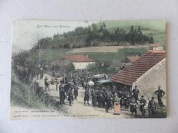 Les Cols Des Vosges Saint-Dié Halte Des Chasseurs à Pied Aux Raids De Robache - Saint Die