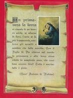 CARTOLINA VG ITALIA - Pensiero Di S. ANTONIO DA PADOVA - Ed. Messaggero Di S. Antonio - 10 X 15 - 1972 - Santi