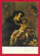 CARTOLINA VG ITALIA - Dipinto Di S. ANTONIO DA PADOVA - Ed. Messaggero Di S. Antonio - 10 X 15 - 1978 - Santi