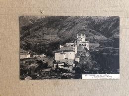 ST. PIERRE CHIESA E CASTELLO (VALLE D'AOSTA)  1938 - Altre Città