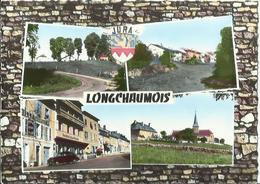 CPM - LONGCHAUMOIS - La Montée, Vue Générale - La Grande Rue, L'Eglise Et La Cure. - France