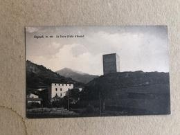 GIGNOD LA TORRE  (VALLE D'AOSTA)  1937 - Altre Città
