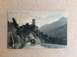 VALLEE D'AOSTE LE CHATEAU DE SARRE   1938 - Altre Città