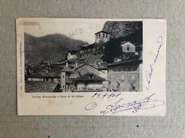 VERRES ( PARROCCHIA E TORRE DI ST. GILLES ) 1901 - Altre Città