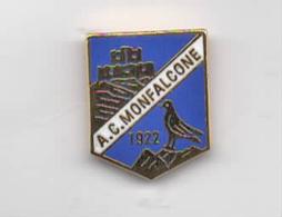 A.c. Monfalcone Calcio Distintivi FootBall Soccer Spilla Pins Italy FVG Goriza - Calcio