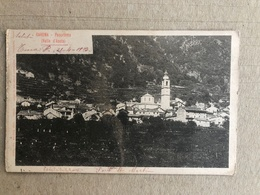 CAREMA PANORAMA (VALLE D'AOSTA)   1903 - Altre Città