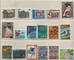 Japan 1984 Siehe Bild/Beschreibung 17 Marken Gestempelt; Used - 1926-89 Imperatore Hirohito (Periodo Showa)