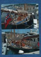 """BATEAUX - VOILIERS- """" Invaders """" 2  Photos Originales - Port De Nice   -  Format  15 X 10 Cms - Barche"""
