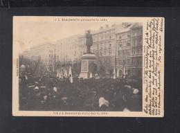 Finnland PPC Runeberg Statue 1904 - Finland