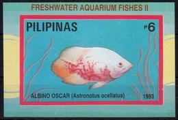 Philippinen MiNr. Bl. 66 ** Süßwasser-Zierfische - Philippinen