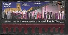 SPAIN, 2019, MNH, MEDIEVAL REPRESENTATION OF THE KINGDOM OF NAJERA, ACTING, PERFORMANCES, 1v - Künste