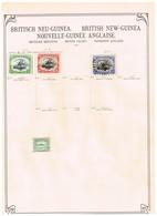 Colonies Et Territoires Britanniques Ancienne Collection Sur Feuilles D'époque - Collections (sans Albums)