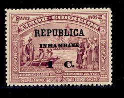 ! ! Inhambane - 1913 Vasco Gama On Timor 1 C - Af. 65 - MH - Inhambane