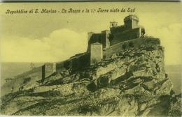 SAN MARINO - LA ROCCA E LA 1a TORRE VISTE DA SUD - EDIZIONE MOSCATELLI (3560) - San Marino