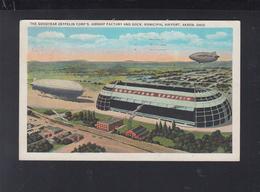 USA PC Goodyear Zeppelin Corp's. Factory - Zeppelins