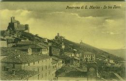 SAN MARINO -  LE TRE TORRI - EDIZIONE MOSCATELLI (3562) - San Marino