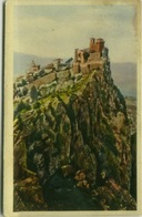 SAN MARINO -  LA ROCCA E LA CITTA' - EDIZIONE ALFREDO REFFI - 1933 (3563) - San Marino