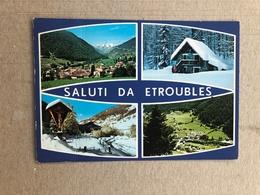 SALUTI DA ETROUBLES  1985 - Altre Città