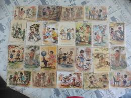 LOT  DE  71  CARTES  GRAVURES DE GERMAINE   BOURET - 5 - 99 Cartes