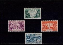 Dahomey N° 99 à 102 Série De 4 Timbres Neufs Avec Charnière - Dahomey (1899-1944)