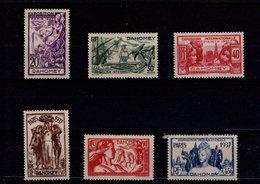 Dahomey N° 103 à 108 Série De 6 Timbres Neufs Avec Charnière - Dahomey (1899-1944)