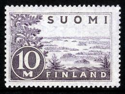 FINLAND 1930 Definitive 10M Light Grey-violet Type I, MI 156 I** MNH - Nuovi