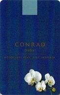 EMIRATI ARABI  KEY HOTEL Conrad Dubai - Cartes D'hotel