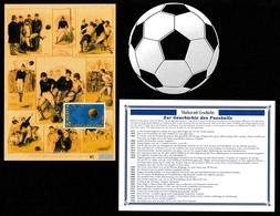 SWITZERLAND 2004 Centenary Of FIFA: Stamp Booklet UM/MNH & Postcard MINT/UNUSED - Carnets