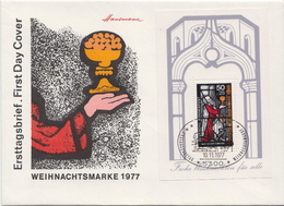 Germany SS On FDC - Christmas