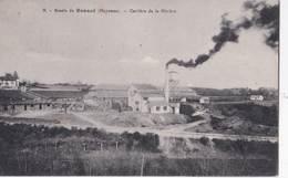 CPA : Renazé   (53)      Carrière De La Rivière     Voyagée 1921   Ed  Gui ... N° 9 - Andere Gemeenten