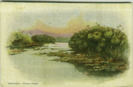 SIRACUSA - FIUME ANAPO - EDIZIONE SOMMER - 1910s (3567) - Siracusa