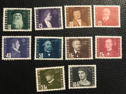 FL Flugpost 1948 Zumstein-Nr. 24 * Ungebraucht Mit Falz Nr. 25-33 ** Postfrisch - Luchtpostzegels
