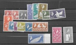1963 MNH Falkland Islands Dependencies South Georgia, Postfris** - Islas Malvinas