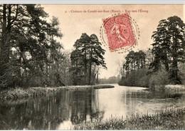"""Cachet Perlé """"Condé-sur-Iton Eure 1906"""" Semeuse Frappe Indice=3 Refaite Au Dos Superbe Pour Paris - Postmark Collection (Covers)"""