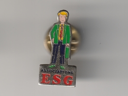 Pin's  ASSOCIATIONS D' ETUDIANTS -- E.S.G  FINANCE - Verenigingen