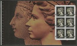 GB 2000 PRESTIGE BOOKLET SPECIAL BY DESIGN DUAL HEADS BOOKLET PANE MNH - 1952-.... (Elizabeth II)