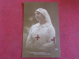 Croix-rouge - Noble Femme,Soyes Bénie Et Que Le Ciel Veille Sur Vous! Patrie 1004 - Croix-Rouge