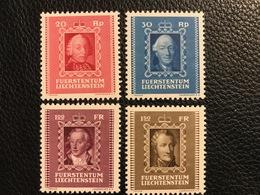 FL 1942 Zumstein-Nr. 171-174 ** Postfrisch - Unused Stamps