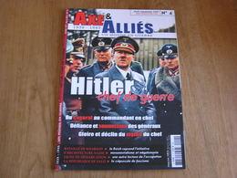AXE ET ALLIES N° 4 Guerre 40 45 Hitler Chef De Guerre Bataille Kharkov Russie Architecture Nazie Ligne Démarcation Salo - Guerre 1939-45